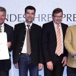 Bundesehrenpreis für Privatbrauerei Schmucker