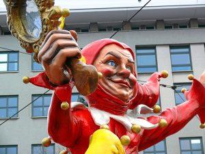 Till Eulenspiegel im Rosenmontagszug in Mainz