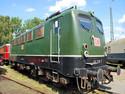 E-Lok im Bahnmuseum