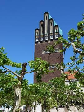 Hochzeitsturm in Darmstadt
