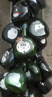 Bocksbeutel für Wein