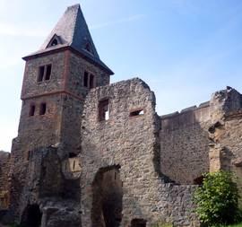 Burg Frankenstein bei Damrstadt