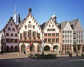 Frankfurter Römer im Herzen der Stadt