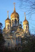 Russische Kirche auf dem Neroberg Wiesbaden